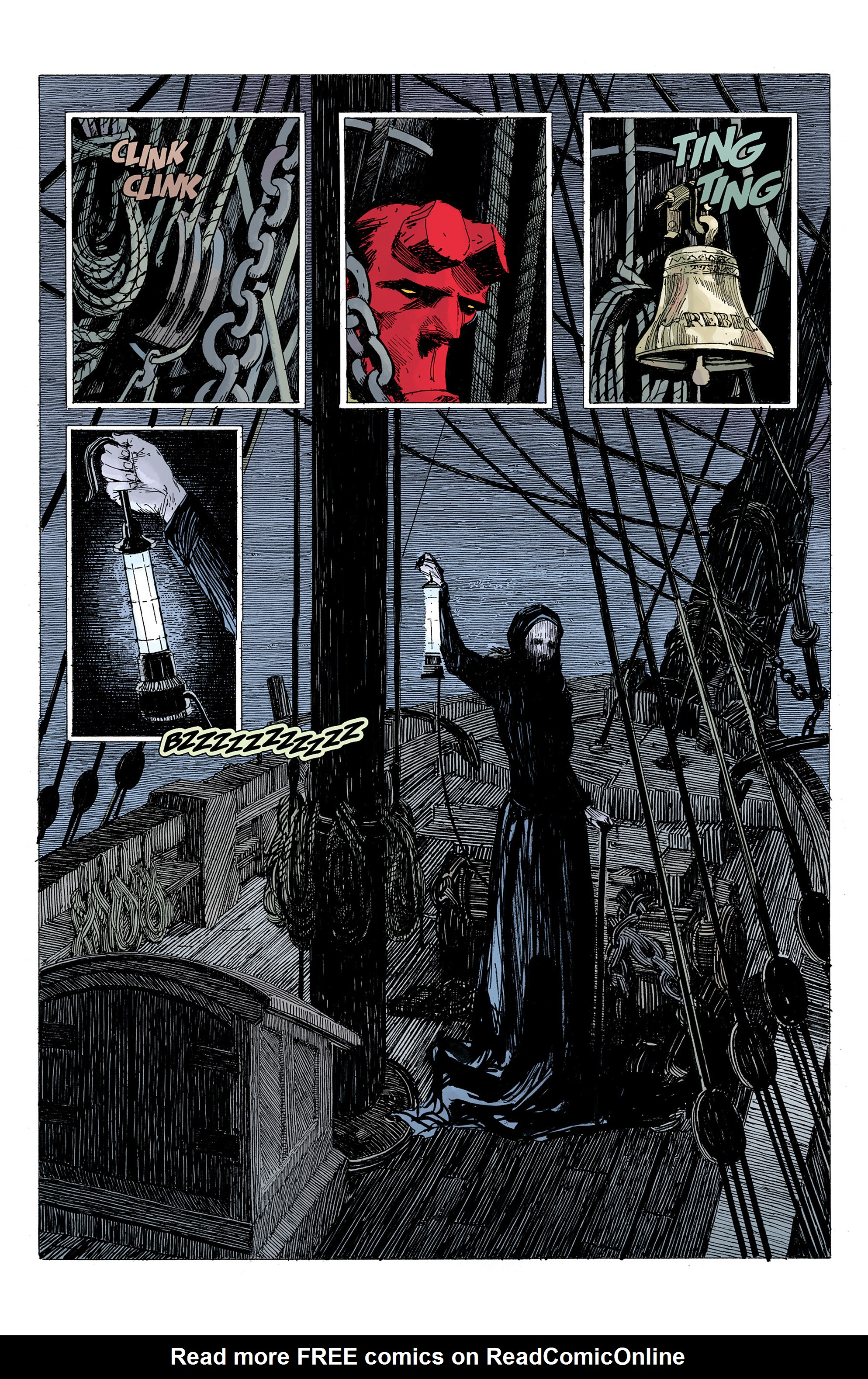 Read online Hellboy: Into the Silent Sea comic -  Issue # Full - 25