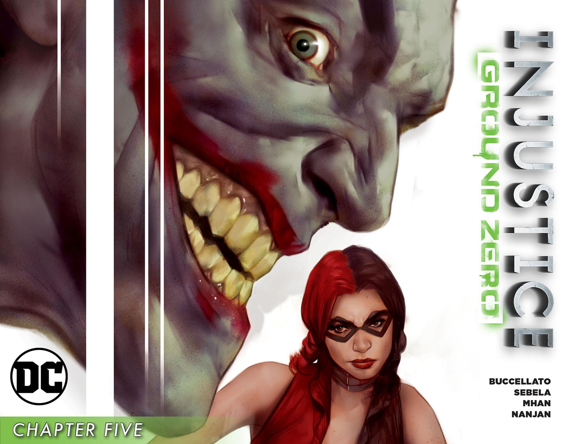 Read online Injustice: Ground Zero comic -  Issue #5 - 1