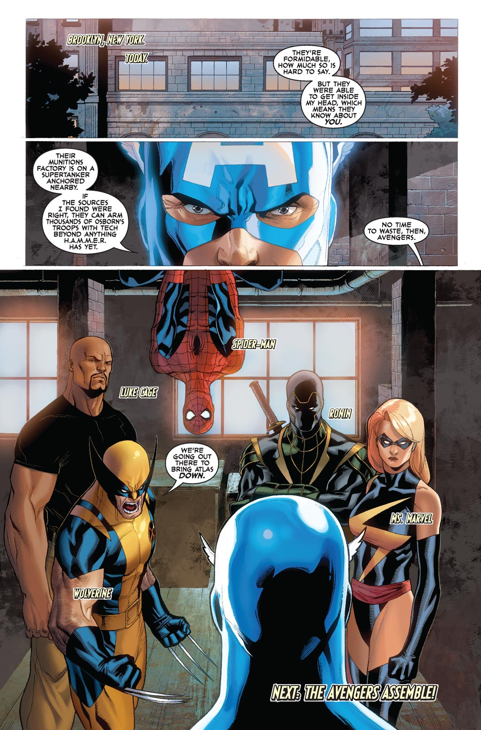 Read online Agents Of Atlas (2009) comic -  Issue #4 - 24