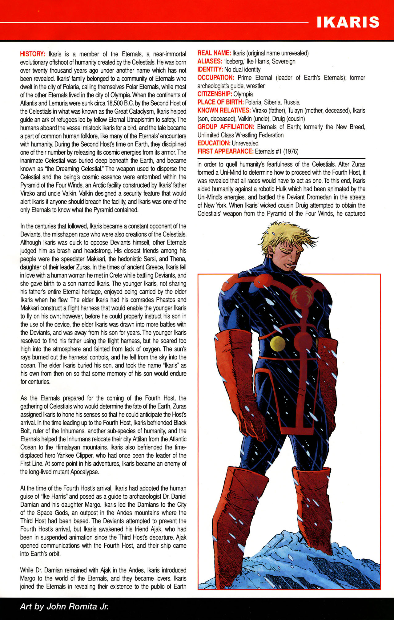 Read online All-New Official Handbook of the Marvel Universe A to Z: Update comic -  Issue #1 - 22