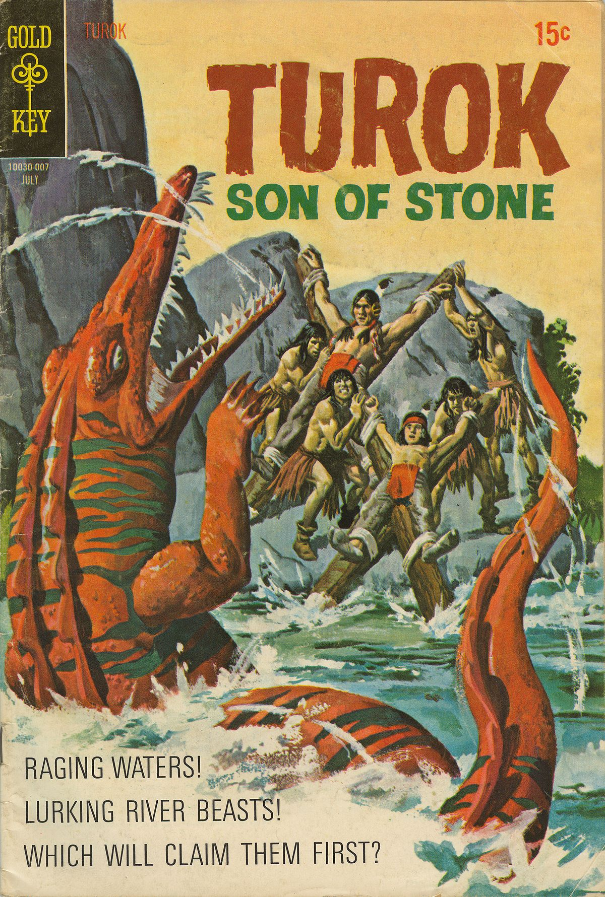 Read online Turok, Son of Stone comic -  Issue #70 - 1