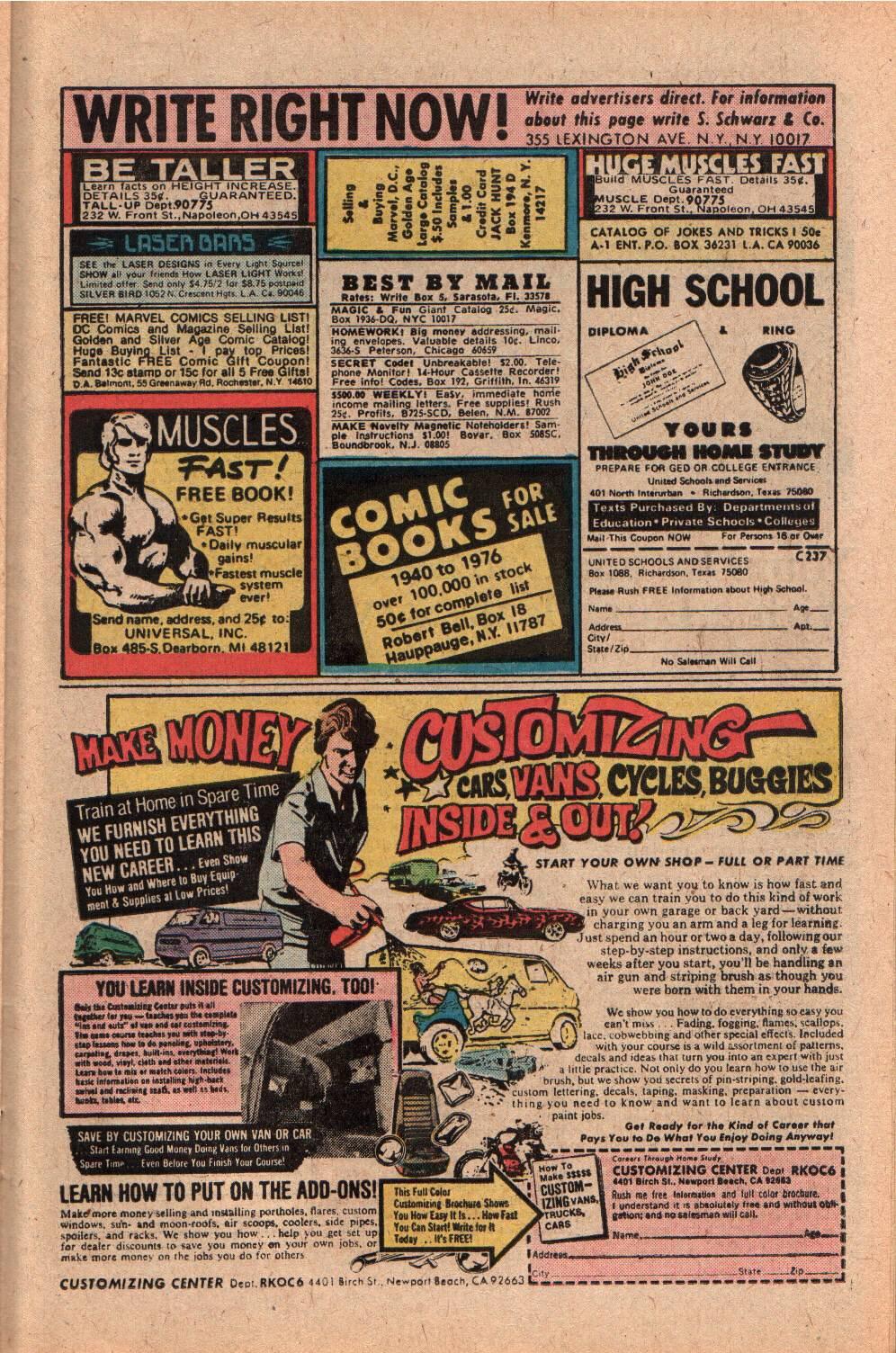 Read online Shazam! (1973) comic -  Issue #28 - 23