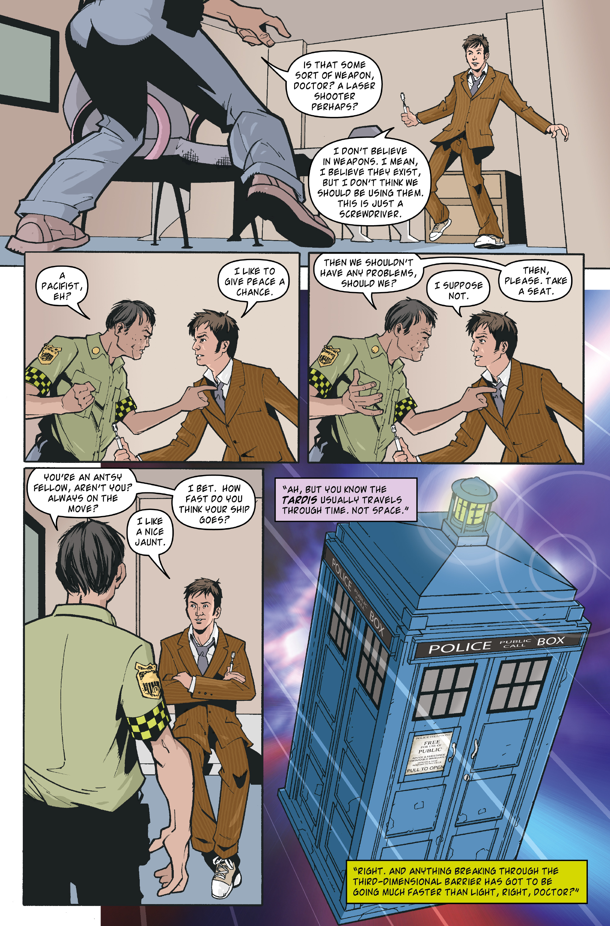 Read online Doctor Who: The Tenth Doctor Archives comic -  Issue #35 - 10