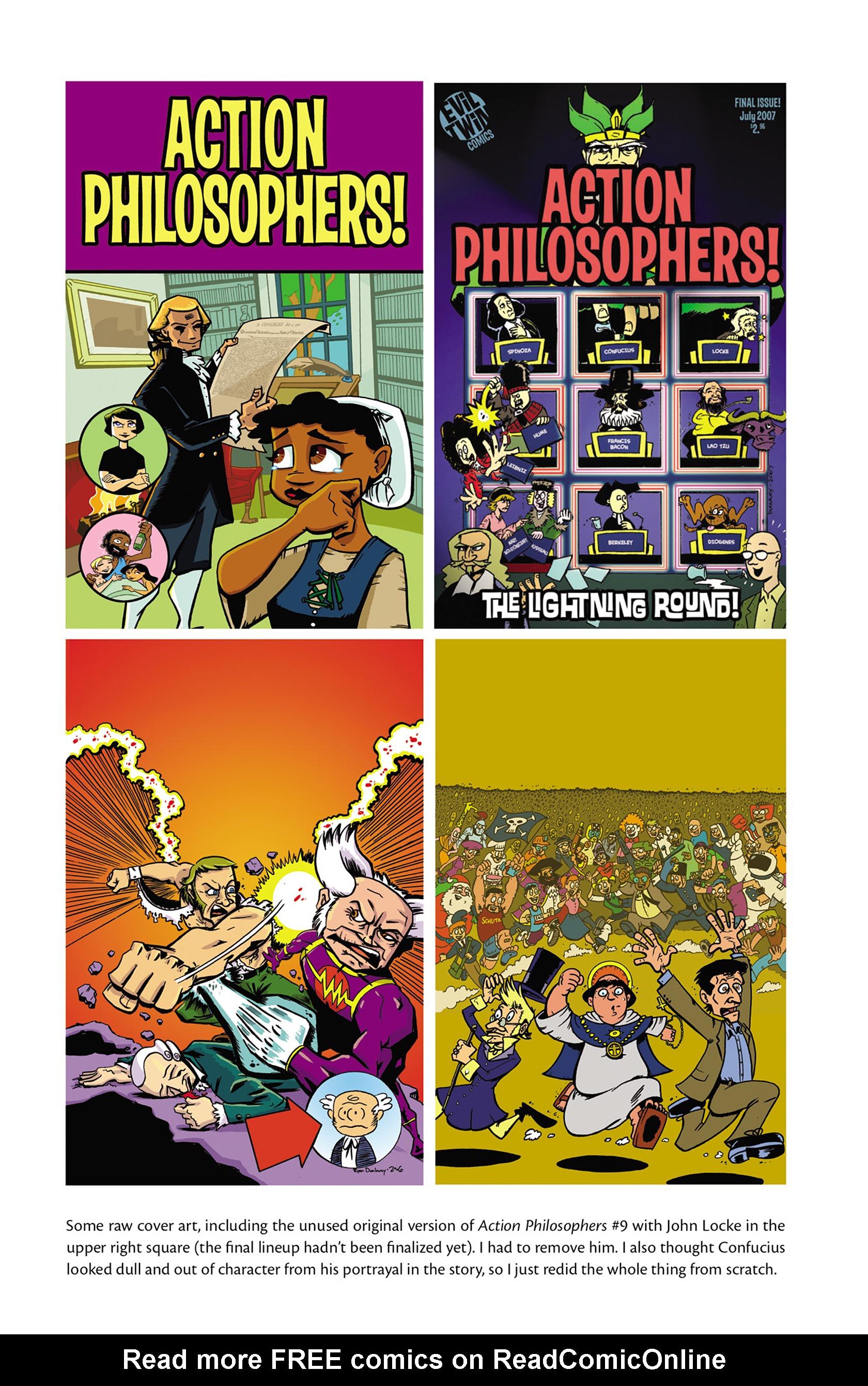 Read online Action Philosophers! comic -  Issue #Action Philosophers! TPB (Part 2) - 167