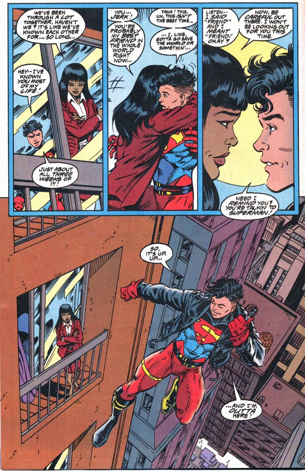 Read online Adventures of Superman (1987) comic -  Issue #503 - 10