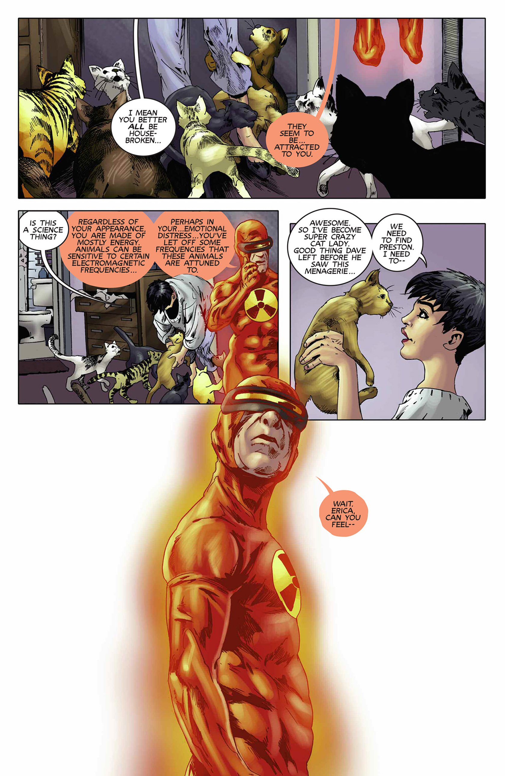 Read online Solar: Man of the Atom (2014) comic -  Issue #9 - 13