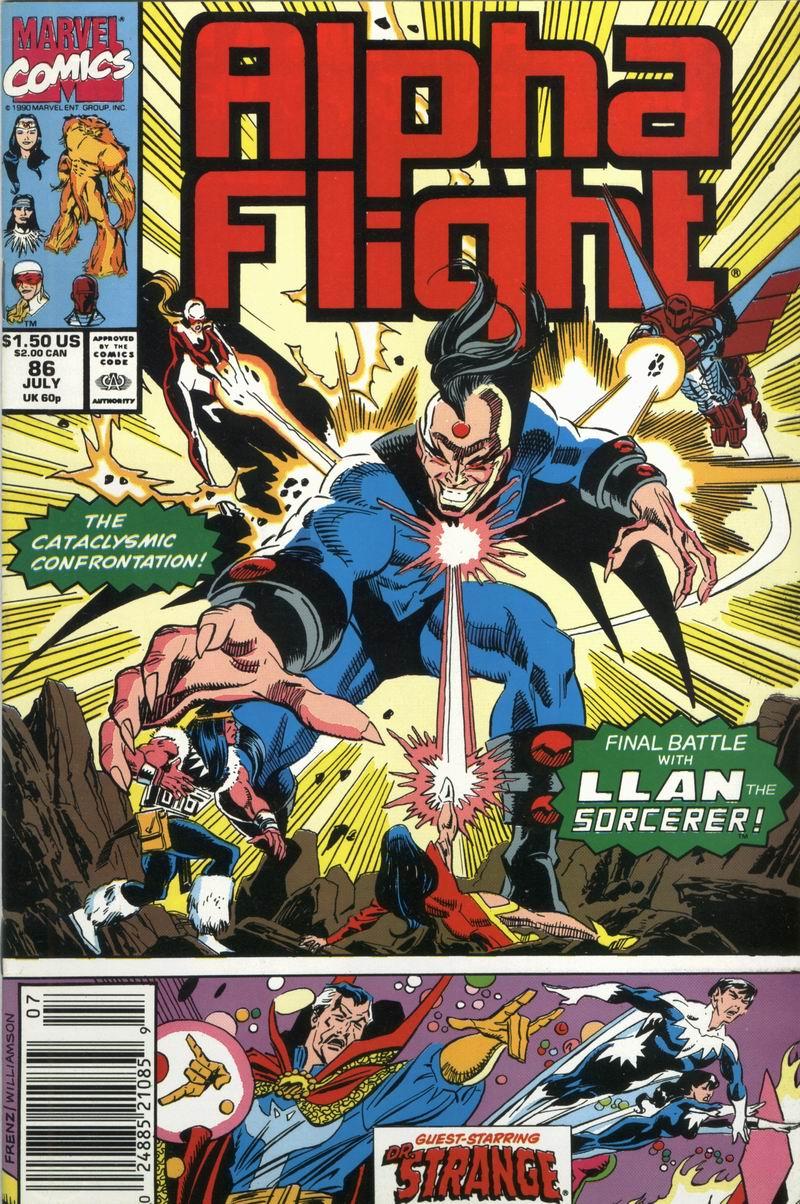 Read online Alpha Flight (1983) comic -  Issue #86 - 1