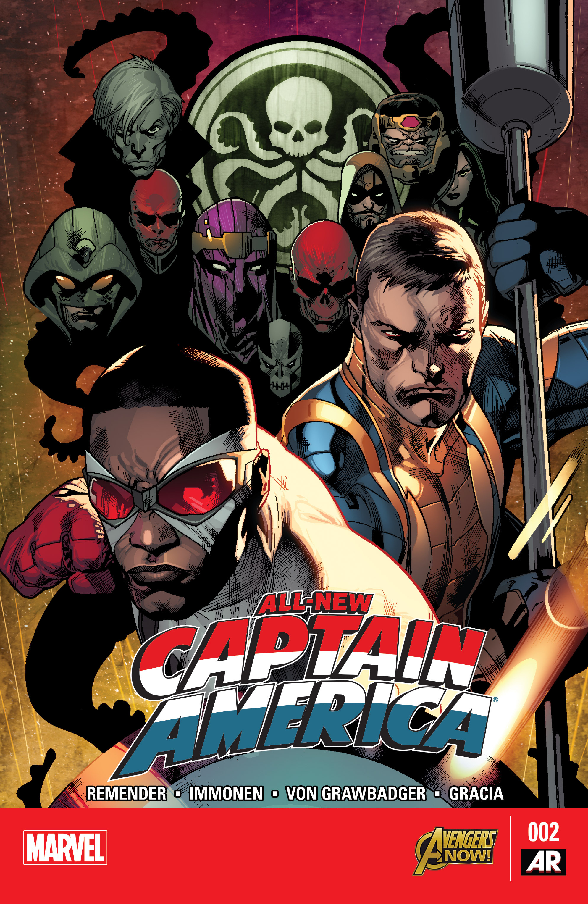 Read online All-New Captain America comic -  Issue #2 - 1