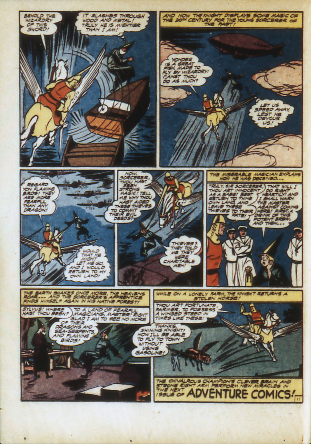 Read online Adventure Comics (1938) comic -  Issue #82 - 37