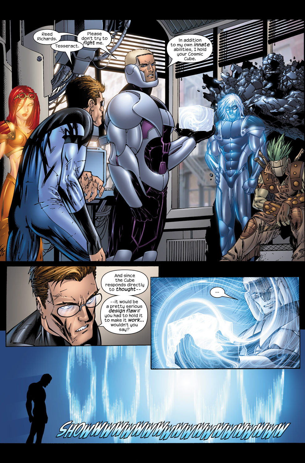 Read online Ultimate Fantastic Four (2004) comic -  Issue #50 - 19