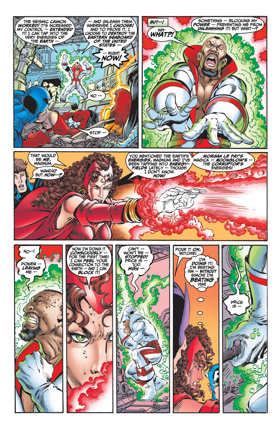 Read online Avengers (1998) comic -  Issue #9 - 16