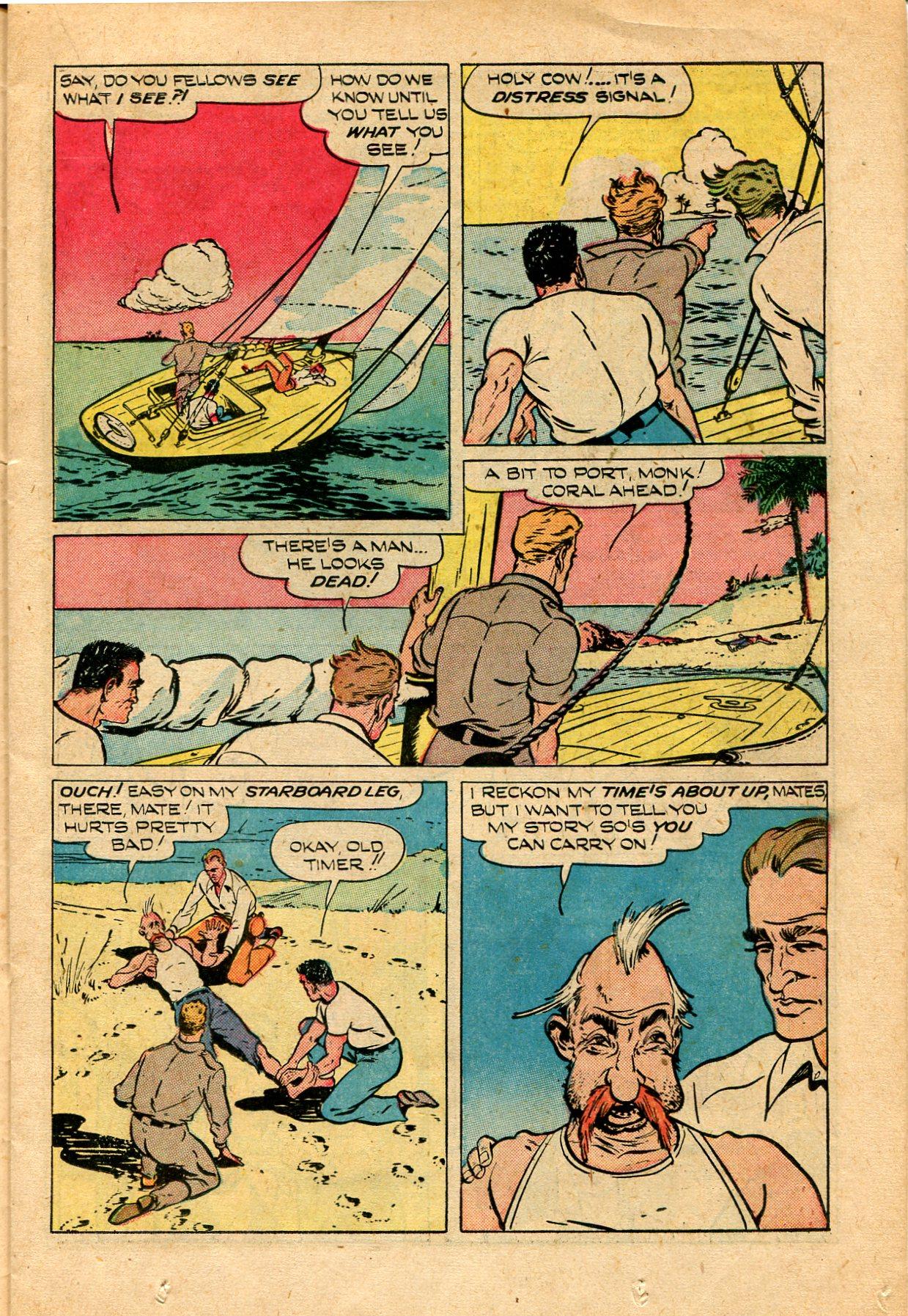 Read online Shadow Comics comic -  Issue #82 - 19