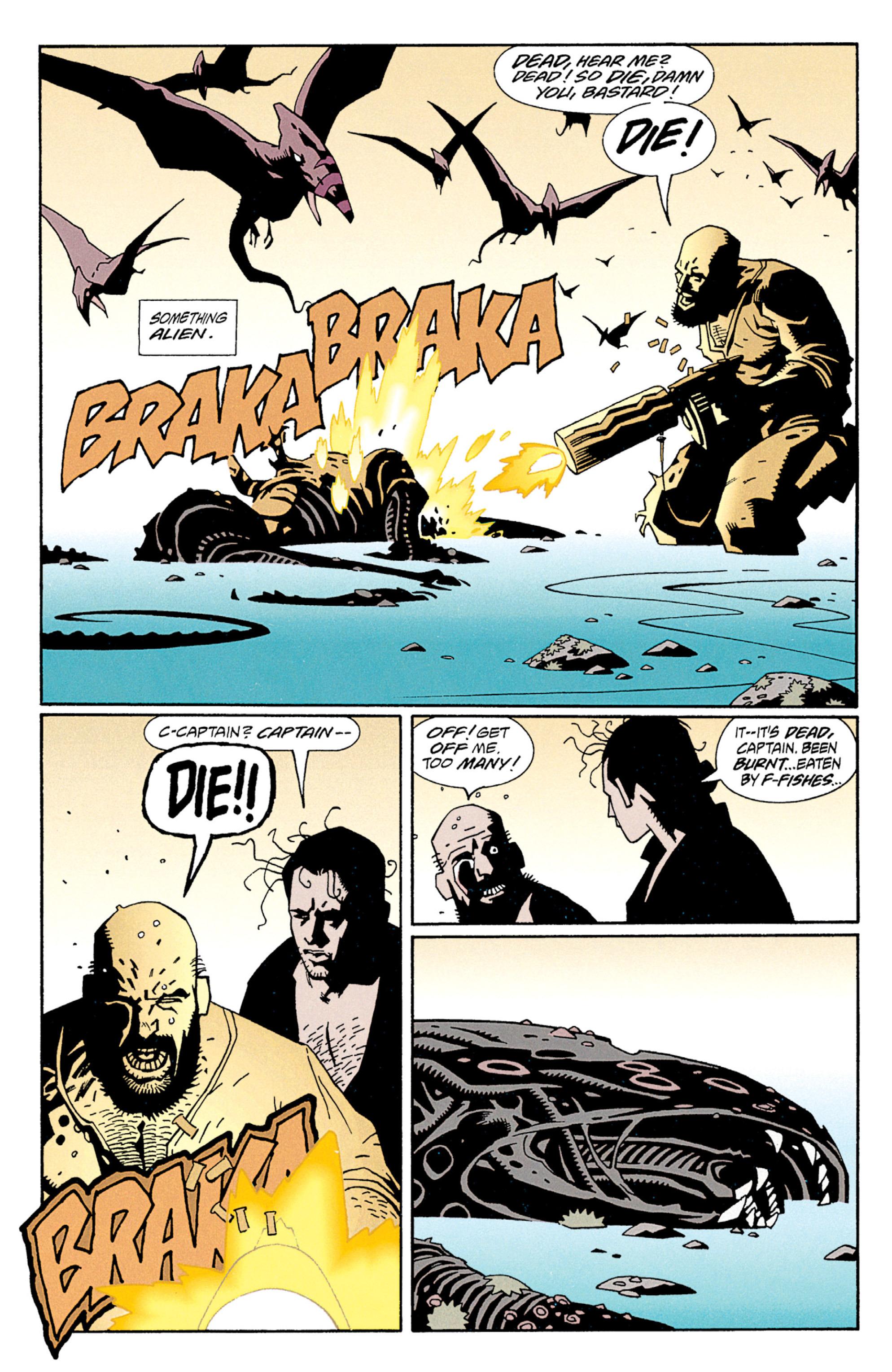 Read online Aliens: Salvation comic -  Issue # TPB - 17