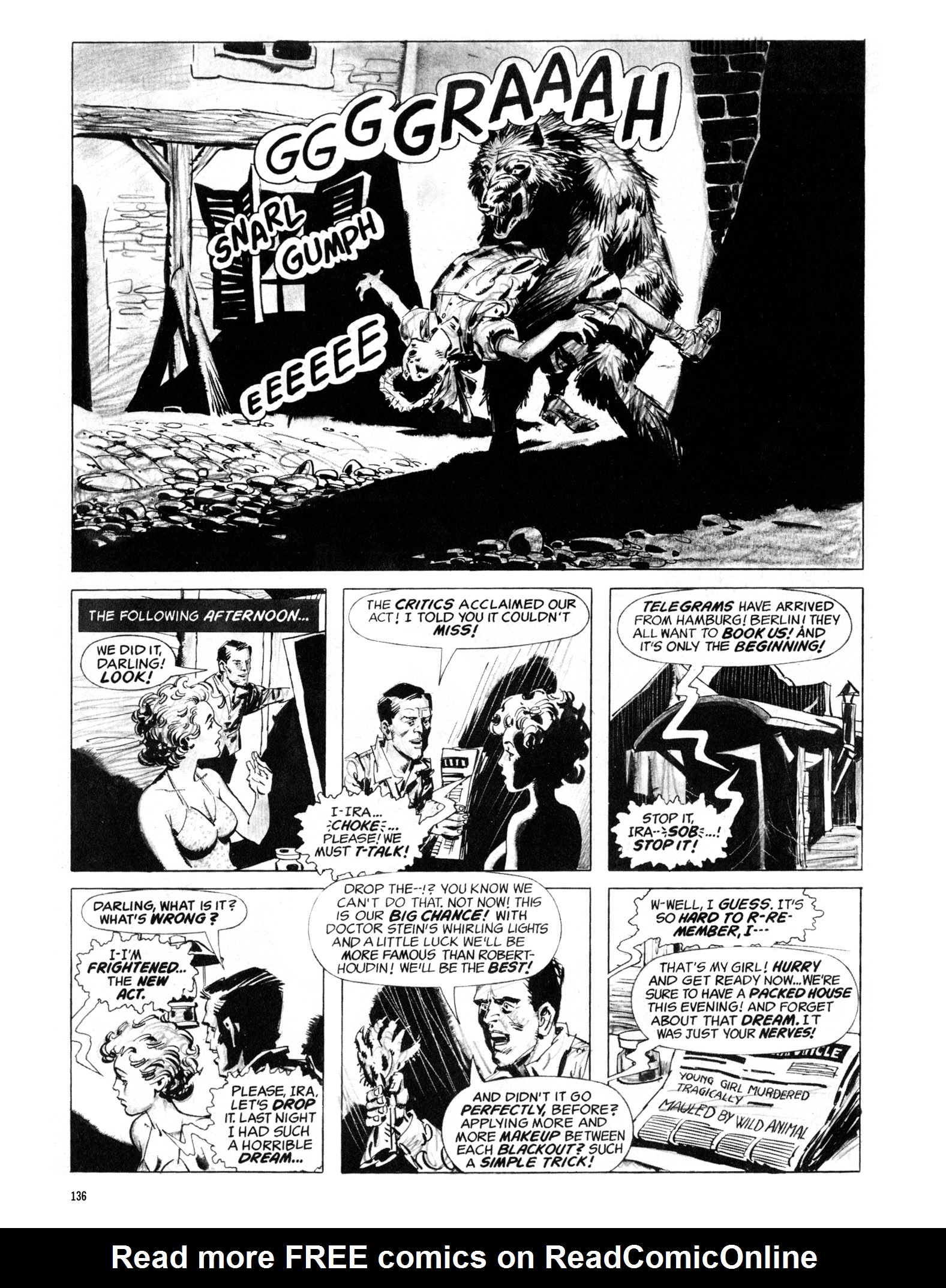 Read online Eerie Archives comic -  Issue # TPB 18 - 137