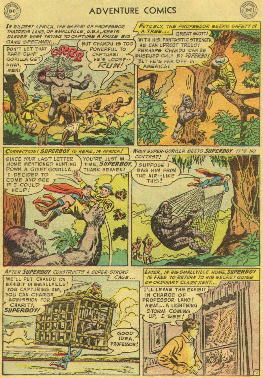Read online Adventure Comics (1938) comic -  Issue #219 - 4