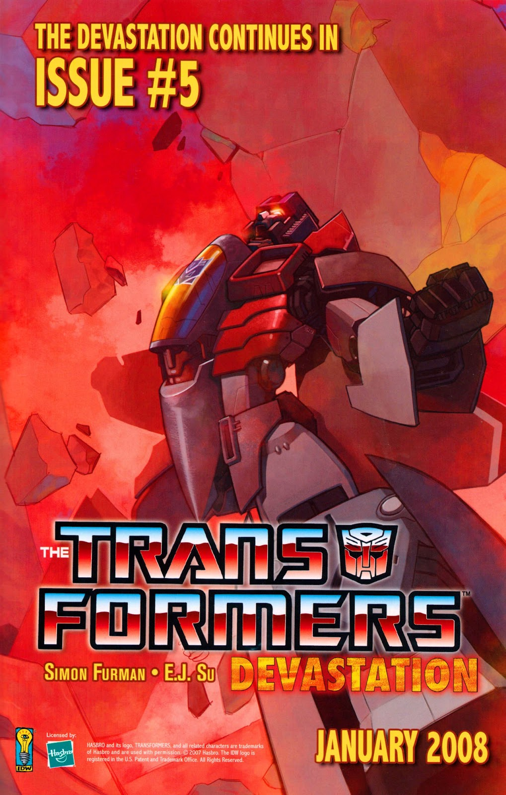 Read online The Transformers: Best of UK: Dinobots comic -  Issue #5 - 31