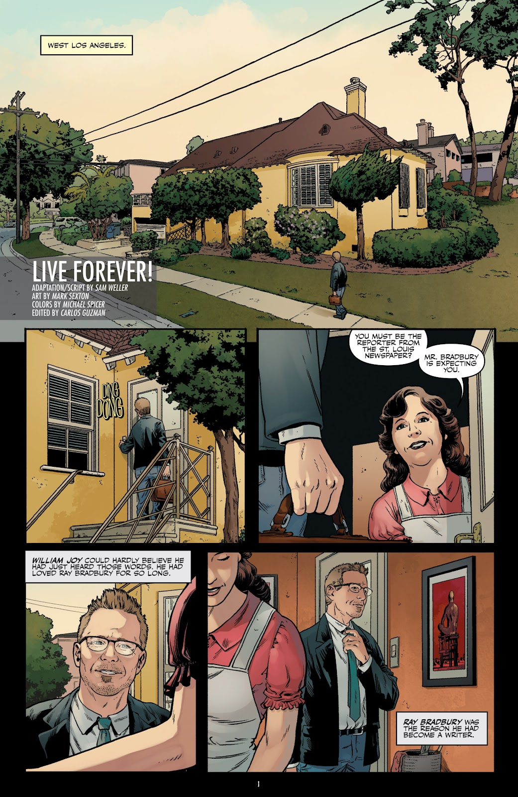 Read online Shadow Show: Stories in Celebration of Ray Bradbury comic -  Issue #3 - 3