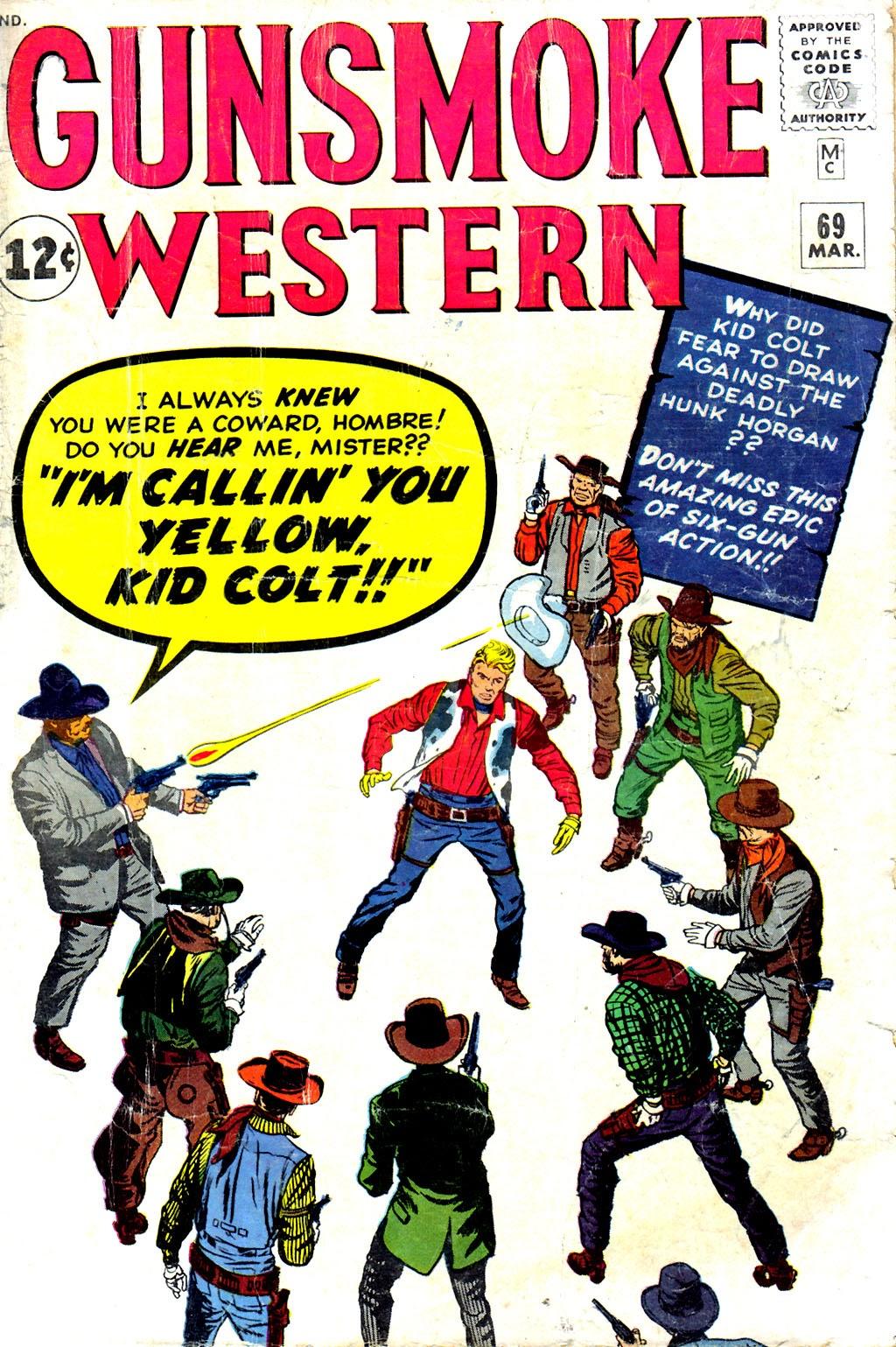 Gunsmoke Western issue 69 - Page 1