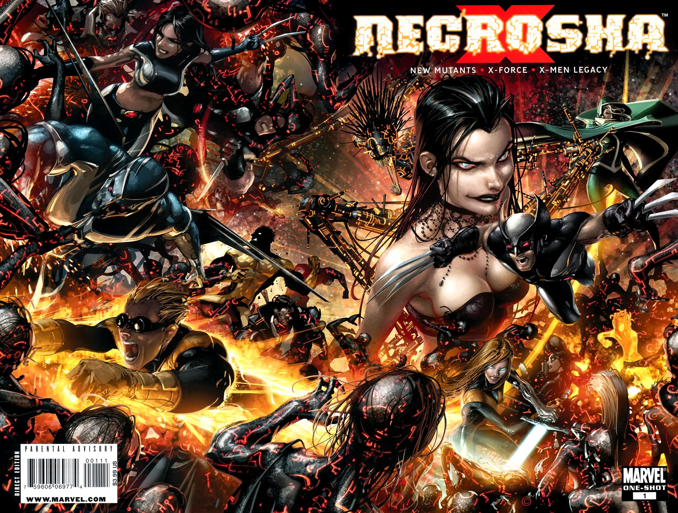 Read online X Necrosha comic -  Issue # Full - 1