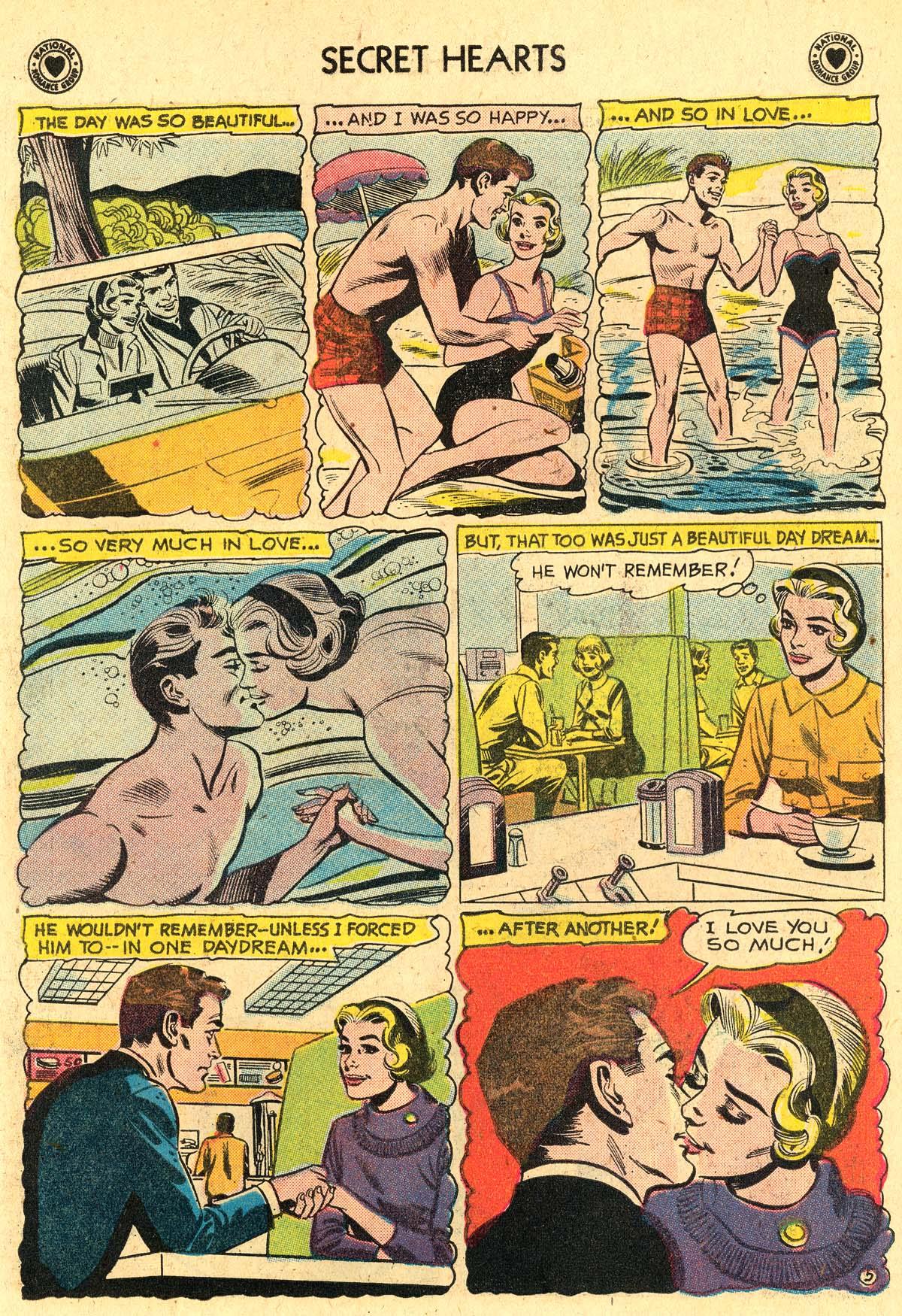 Read online Secret Hearts comic -  Issue #60 - 22