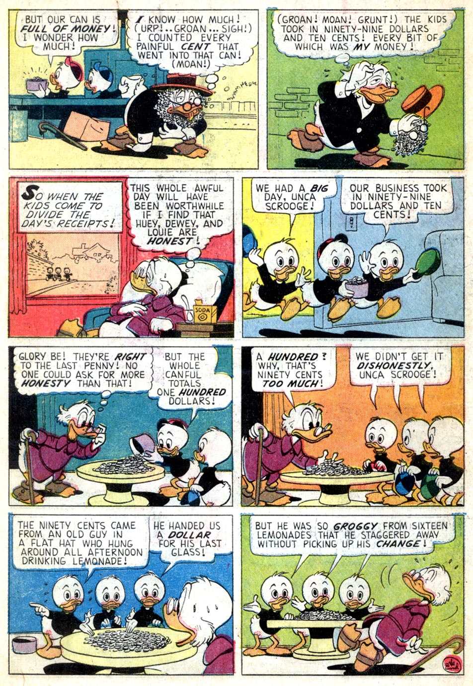 Read online Uncle Scrooge (1953) comic -  Issue #46 - 34
