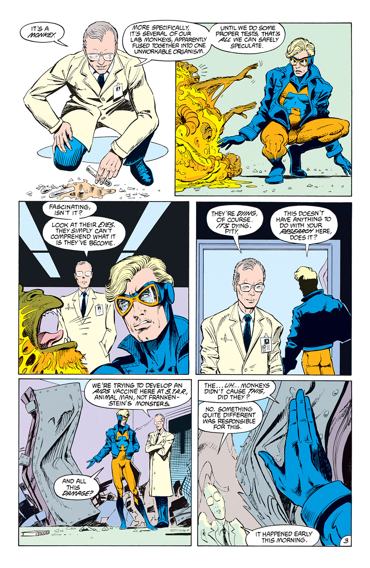 Read online Animal Man (1988) comic -  Issue #2 - 5