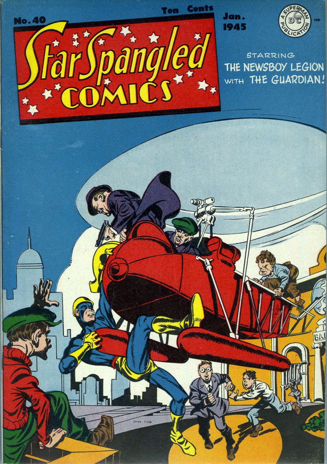 Star Spangled Comics (1941) issue 40 - Page 1