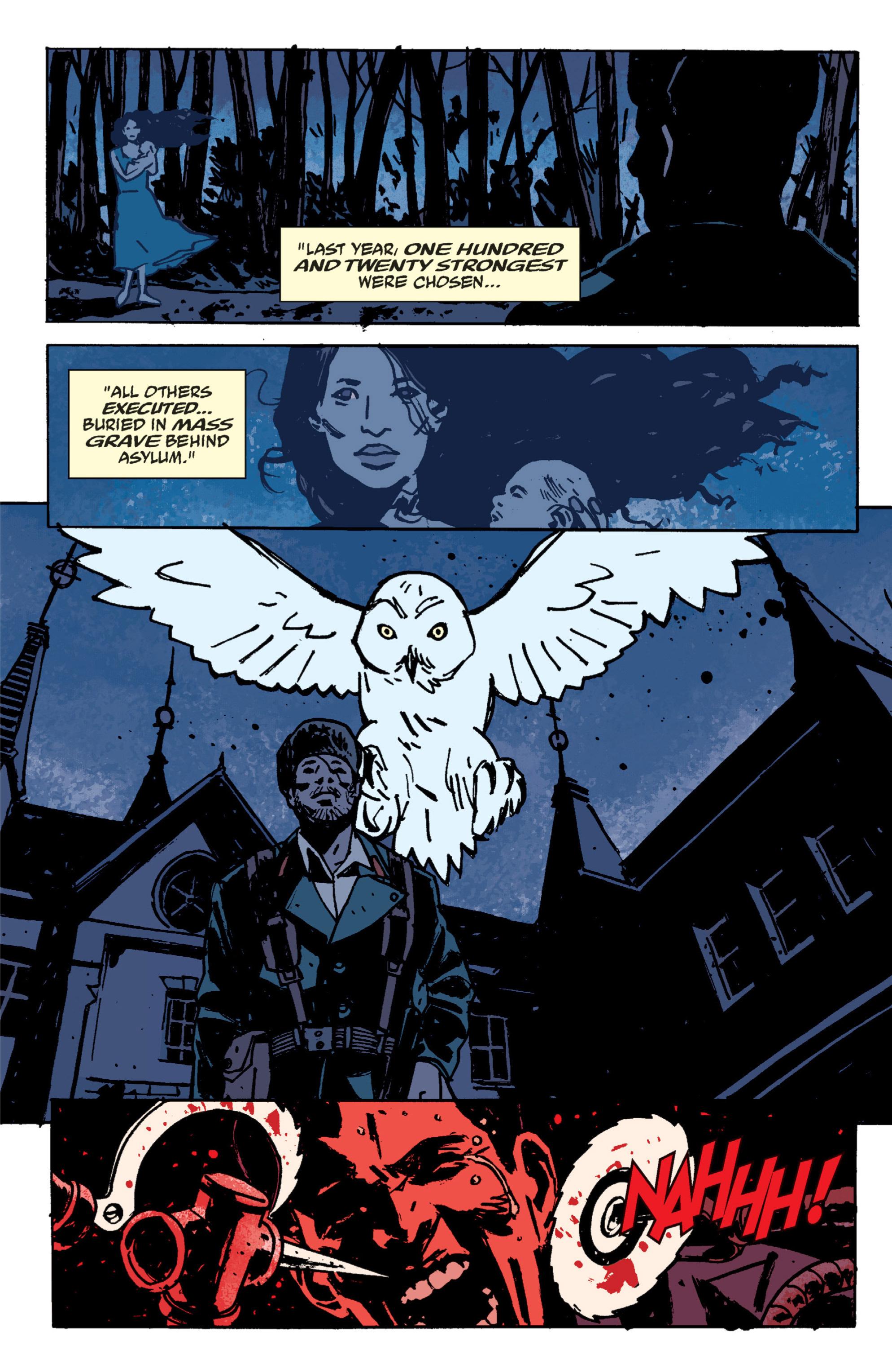 Read online B.P.R.D. (2003) comic -  Issue # TPB 9 - 72