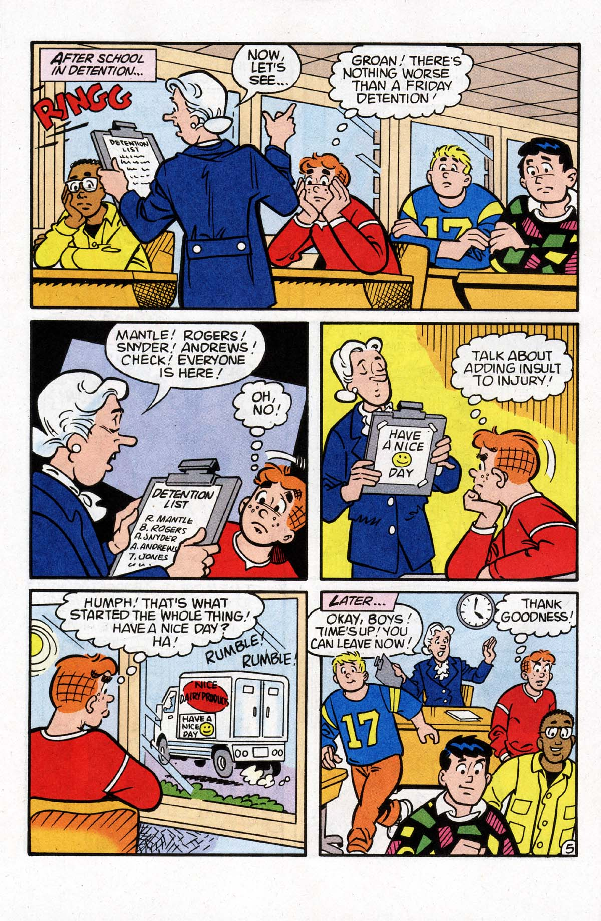 Read online Archie (1960) comic -  Issue #528 - 12