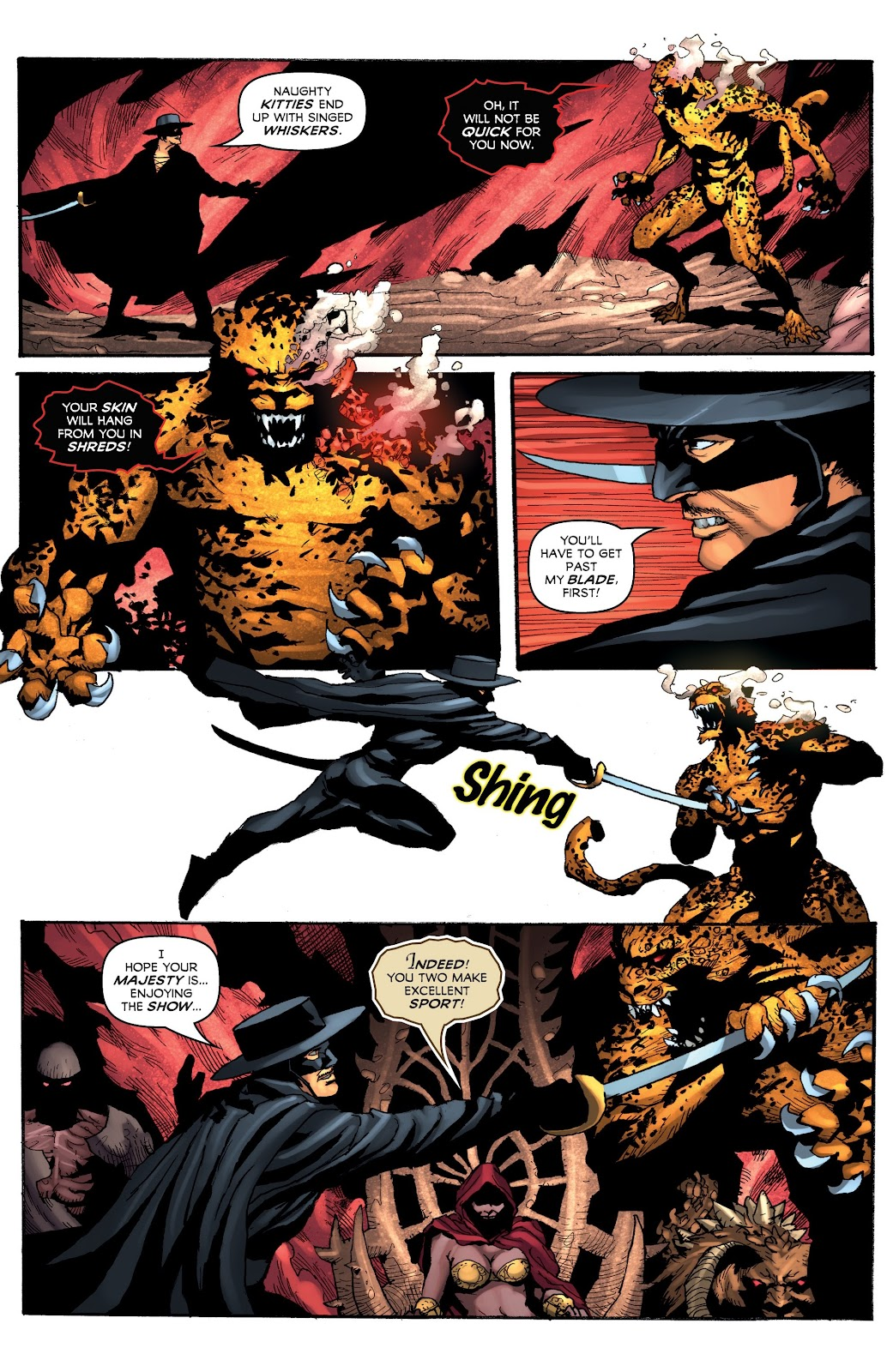 Read online Zorro: Swords of Hell comic -  Issue #4 - 15