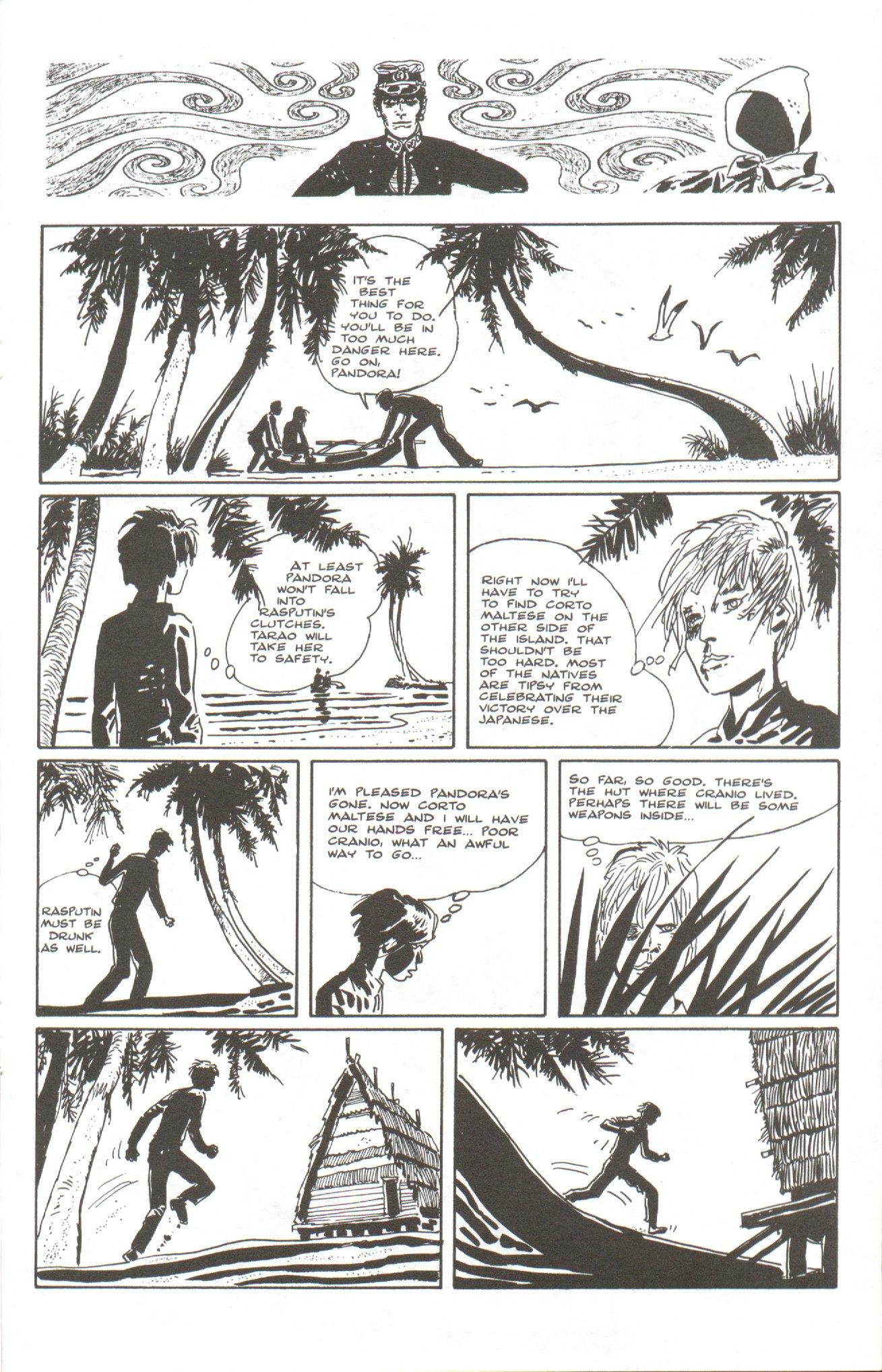 Read online Corto Maltese: Ballad of the Salt Sea comic -  Issue #5 - 17