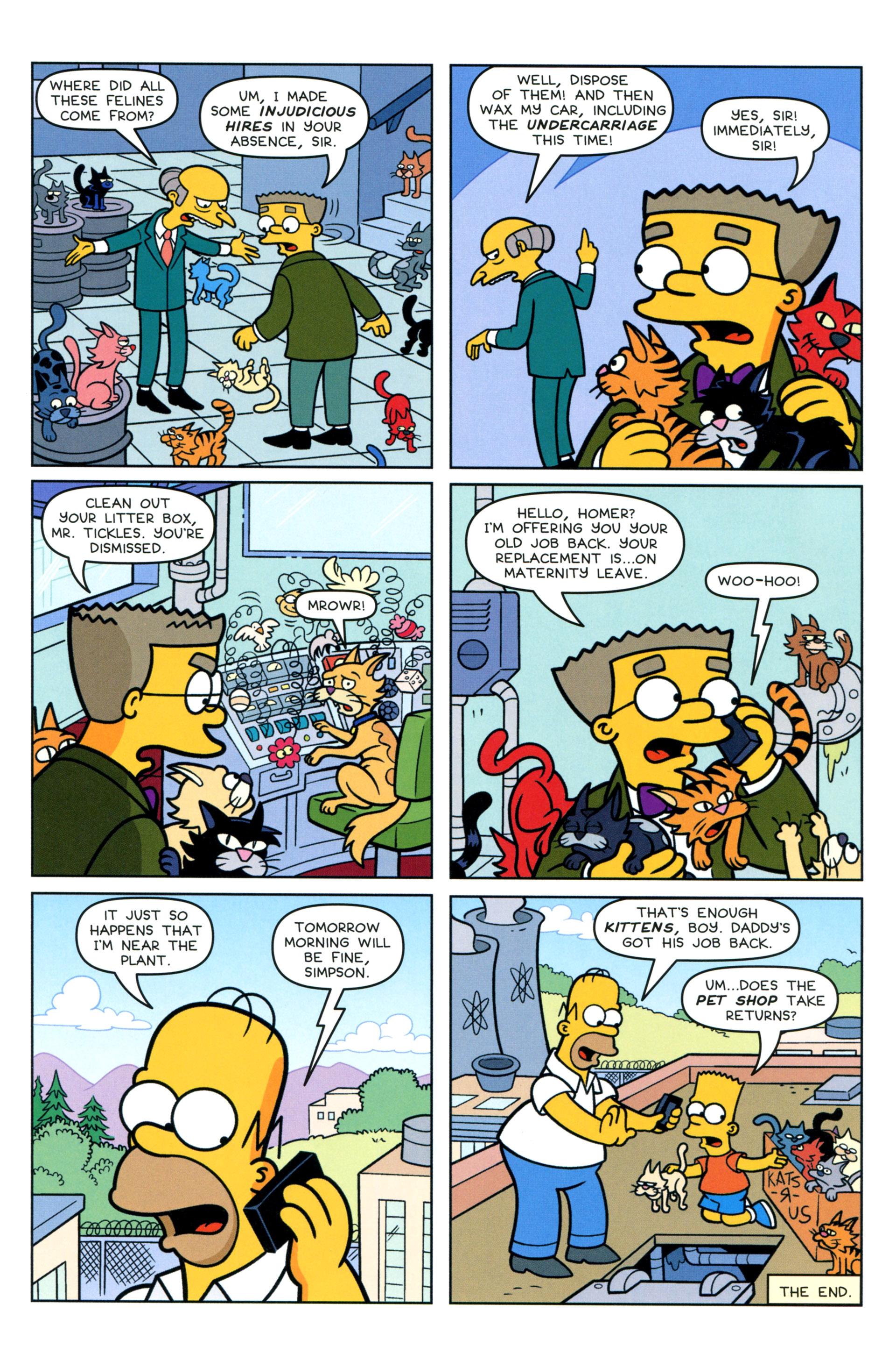 Read online Simpsons Comics comic -  Issue #205 - 24