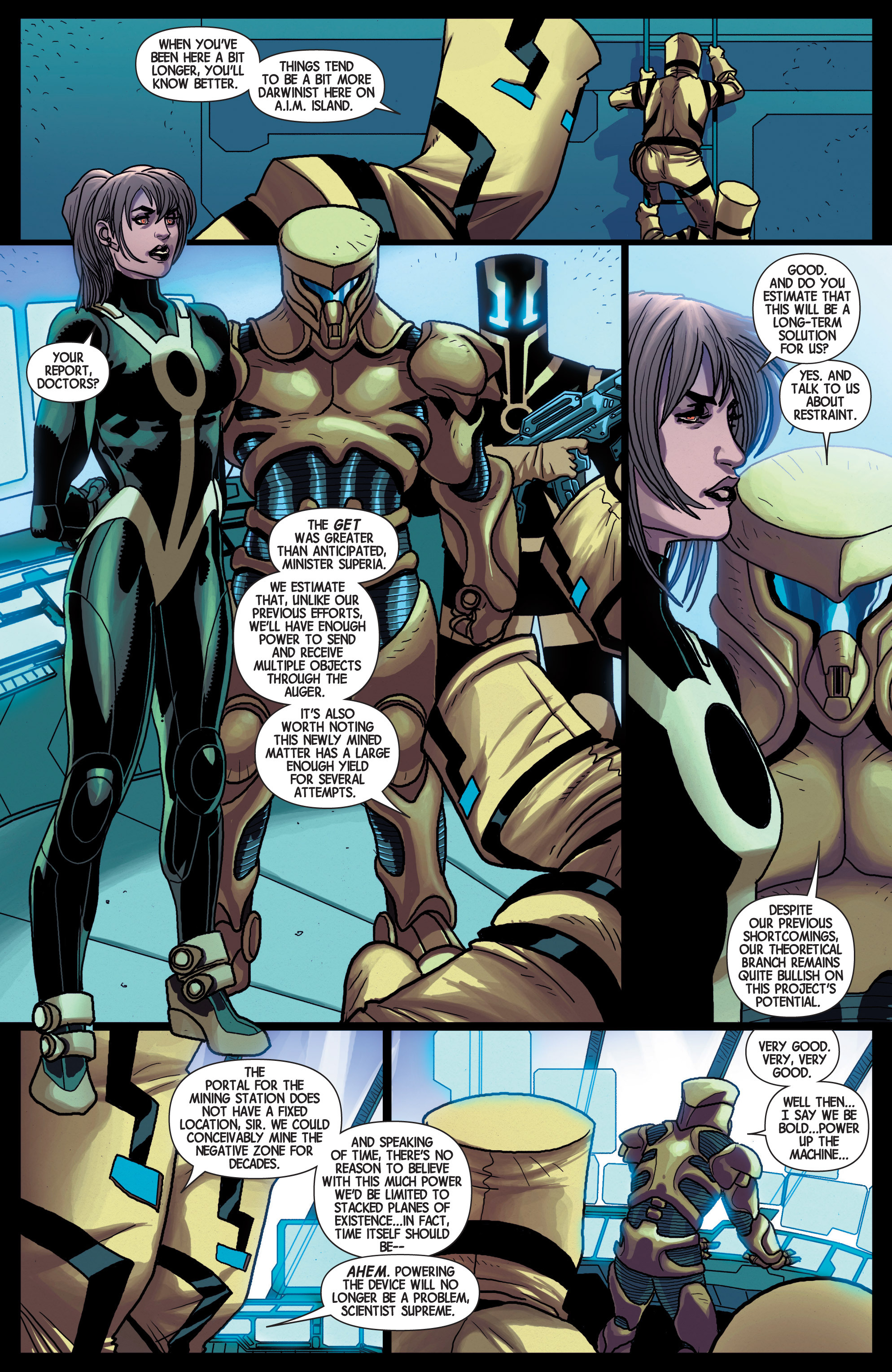 Read online Avengers (2013) comic -  Issue #25 - 11