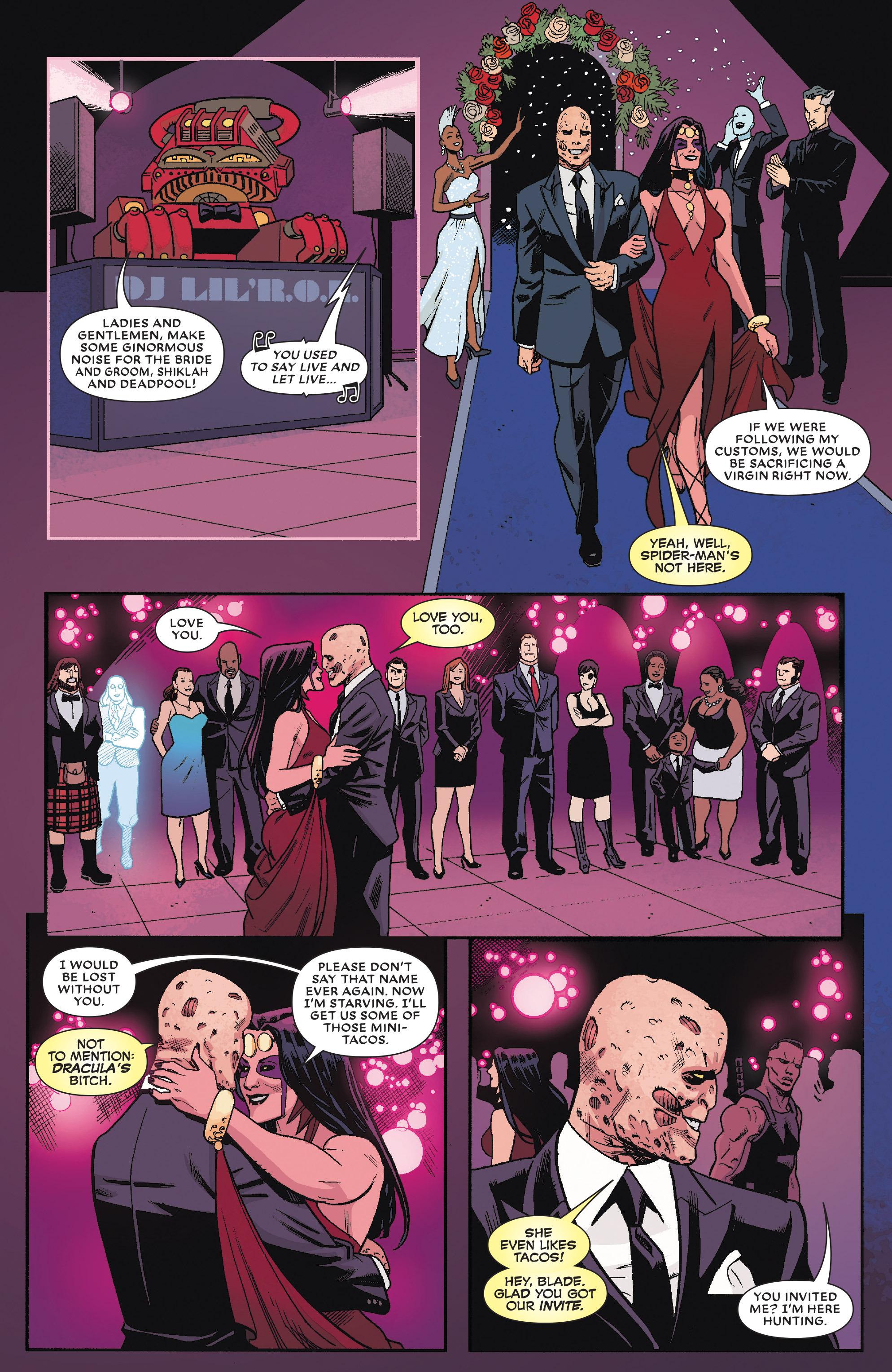 Read online True Believers: The Wedding of Deadpool comic -  Issue # Full - 19