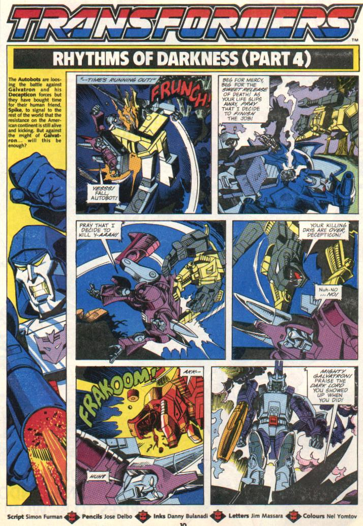 The Transformers (UK) 301 Page 2