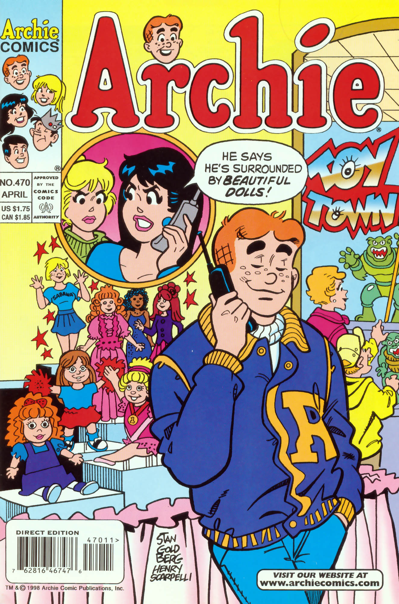 Read online Archie (1960) comic -  Issue #470 - 1