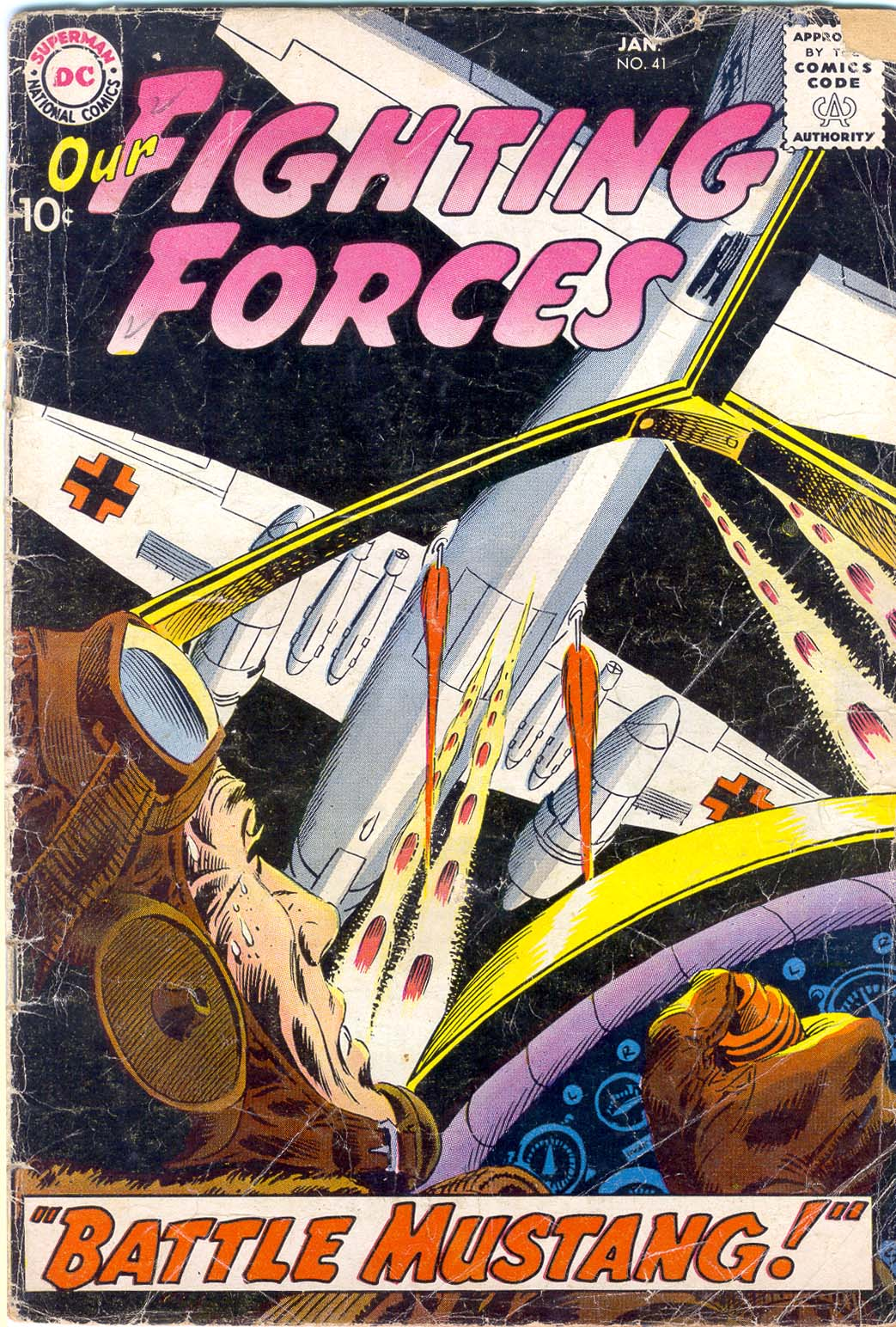 Our Fighting Forces (1954) issue 41 - Page 1