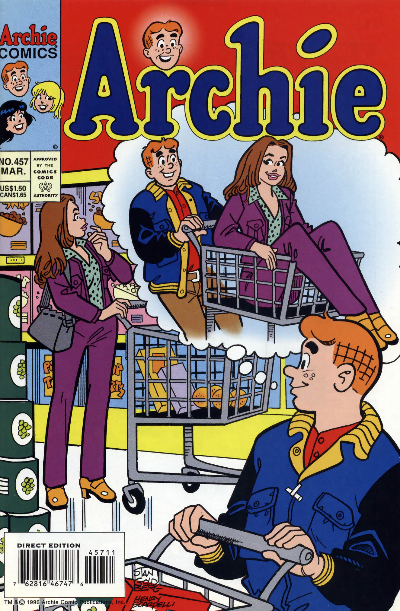 Read online Archie (1960) comic -  Issue #457 - 1