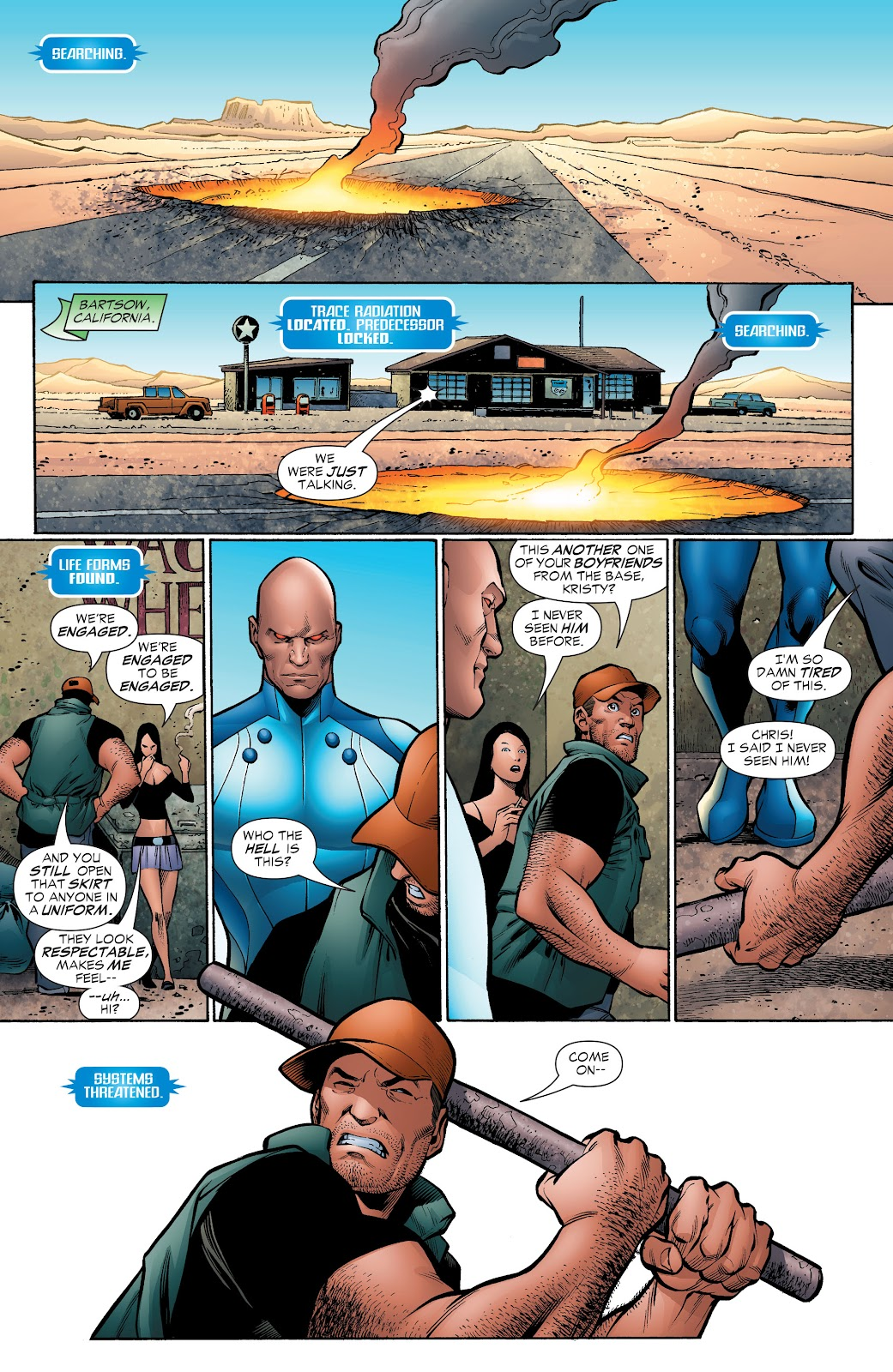 Read online Green Lantern by Geoff Johns comic -  Issue # TPB 1 (Part 4) - 12