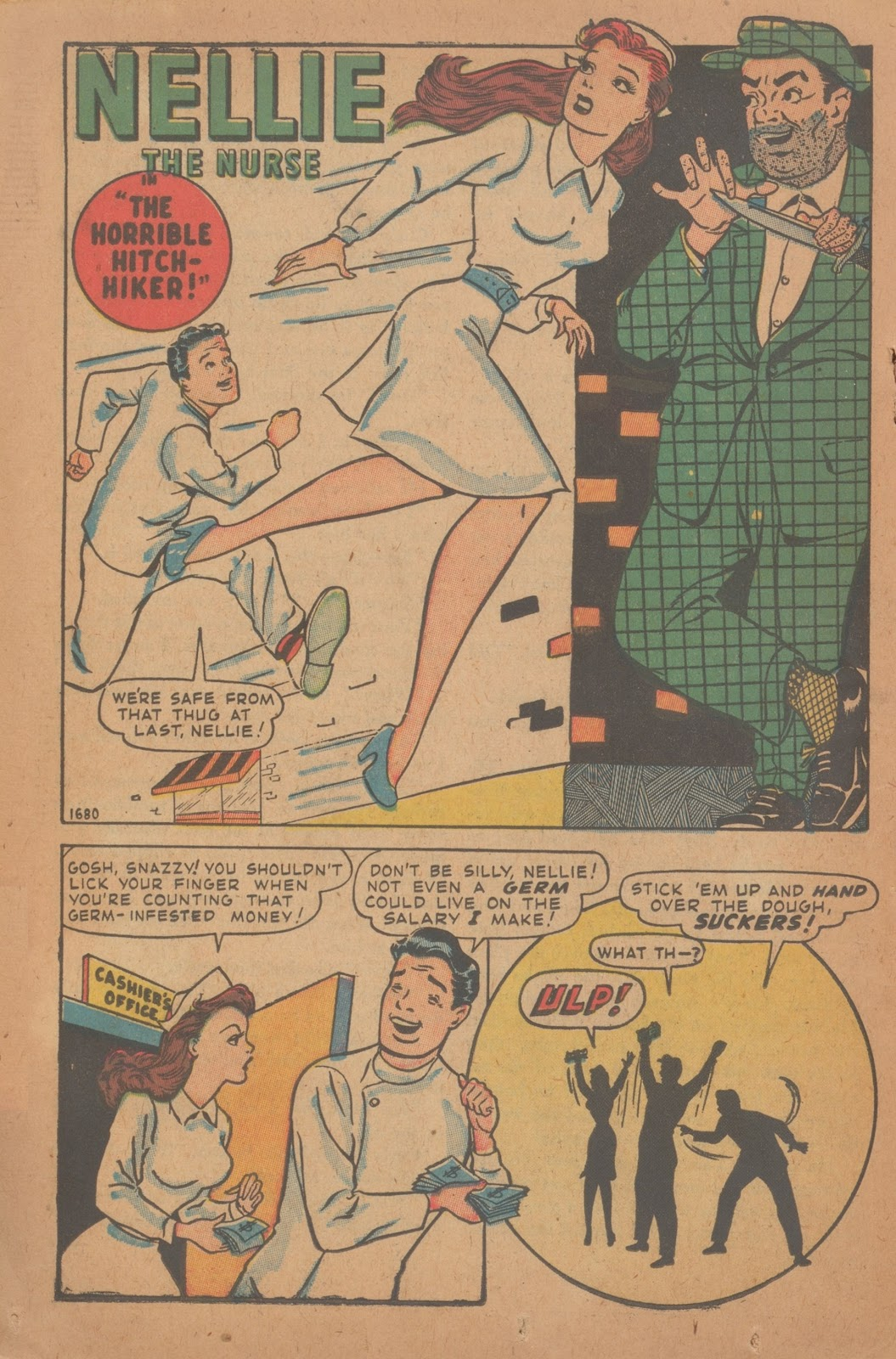 Read online Nellie The Nurse (1945) comic -  Issue #9 - 26