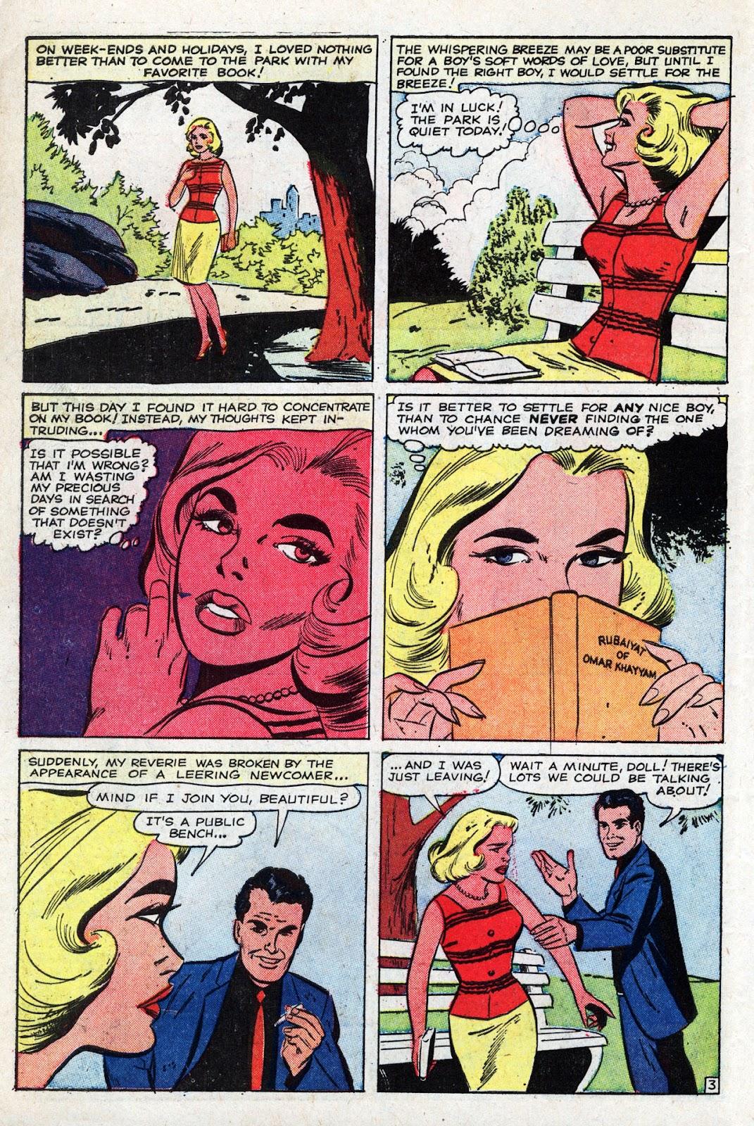 Love Romances (1949) issue 95 - Page 30