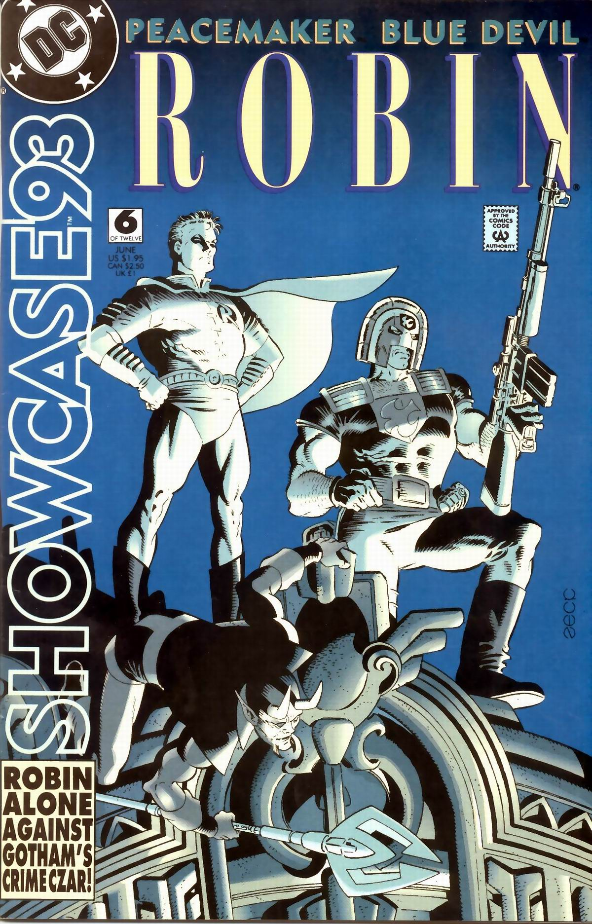 Read online Showcase '93 comic -  Issue #6 - 1