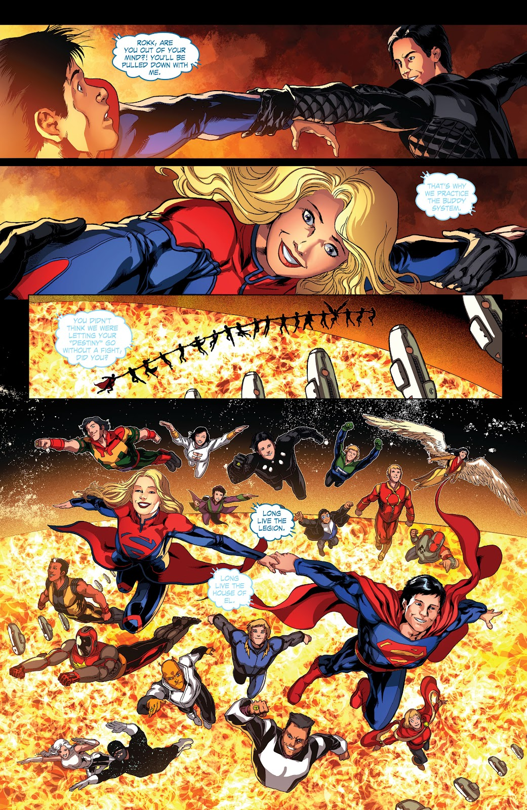 Read online Smallville Season 11 [II] comic -  Issue # TPB 4 - 96