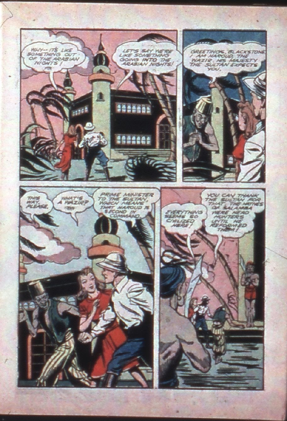 Read online Super-Magician Comics comic -  Issue #7 - 5
