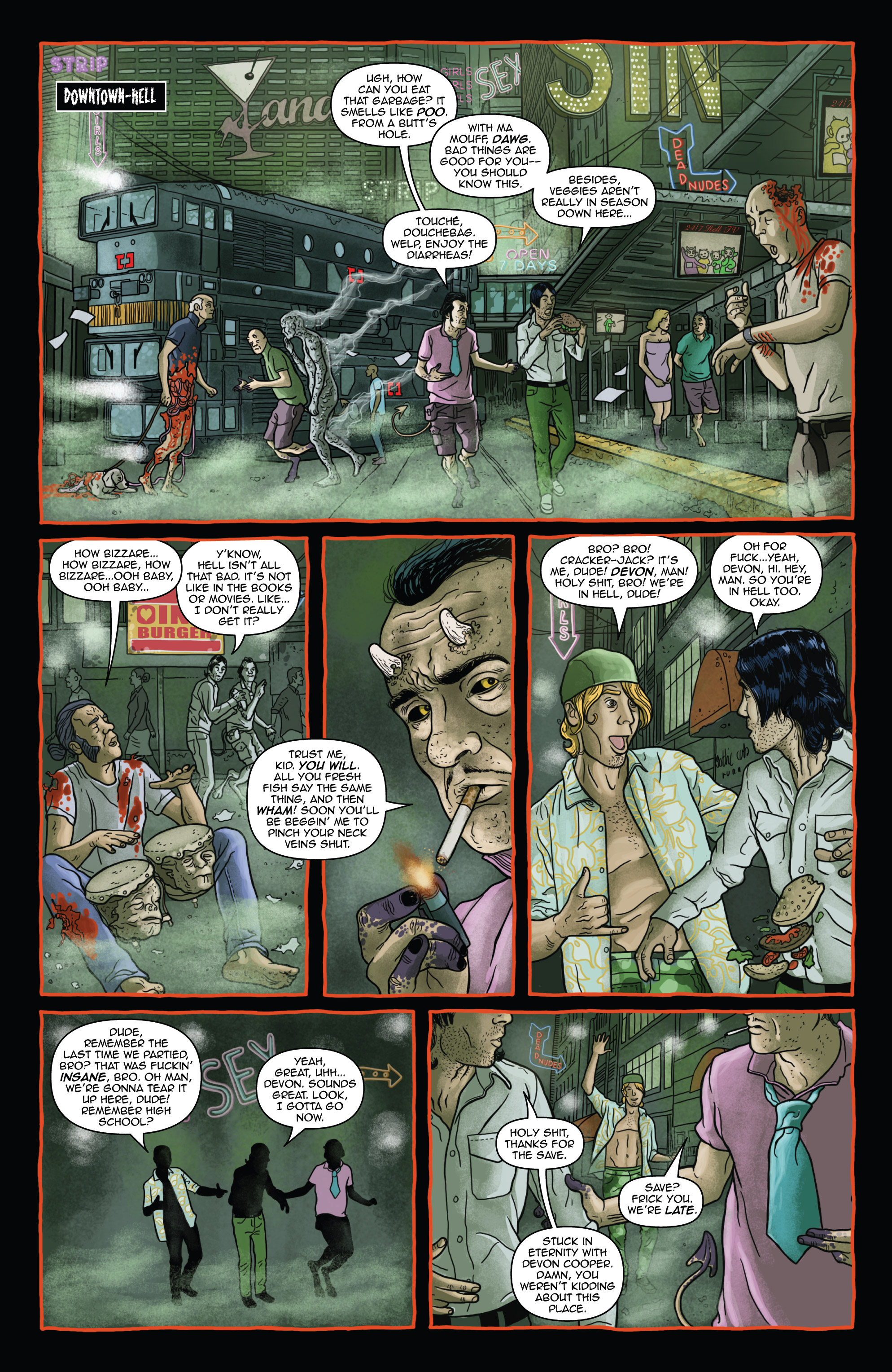 Read online Helena Crash comic -  Issue #3 - 30