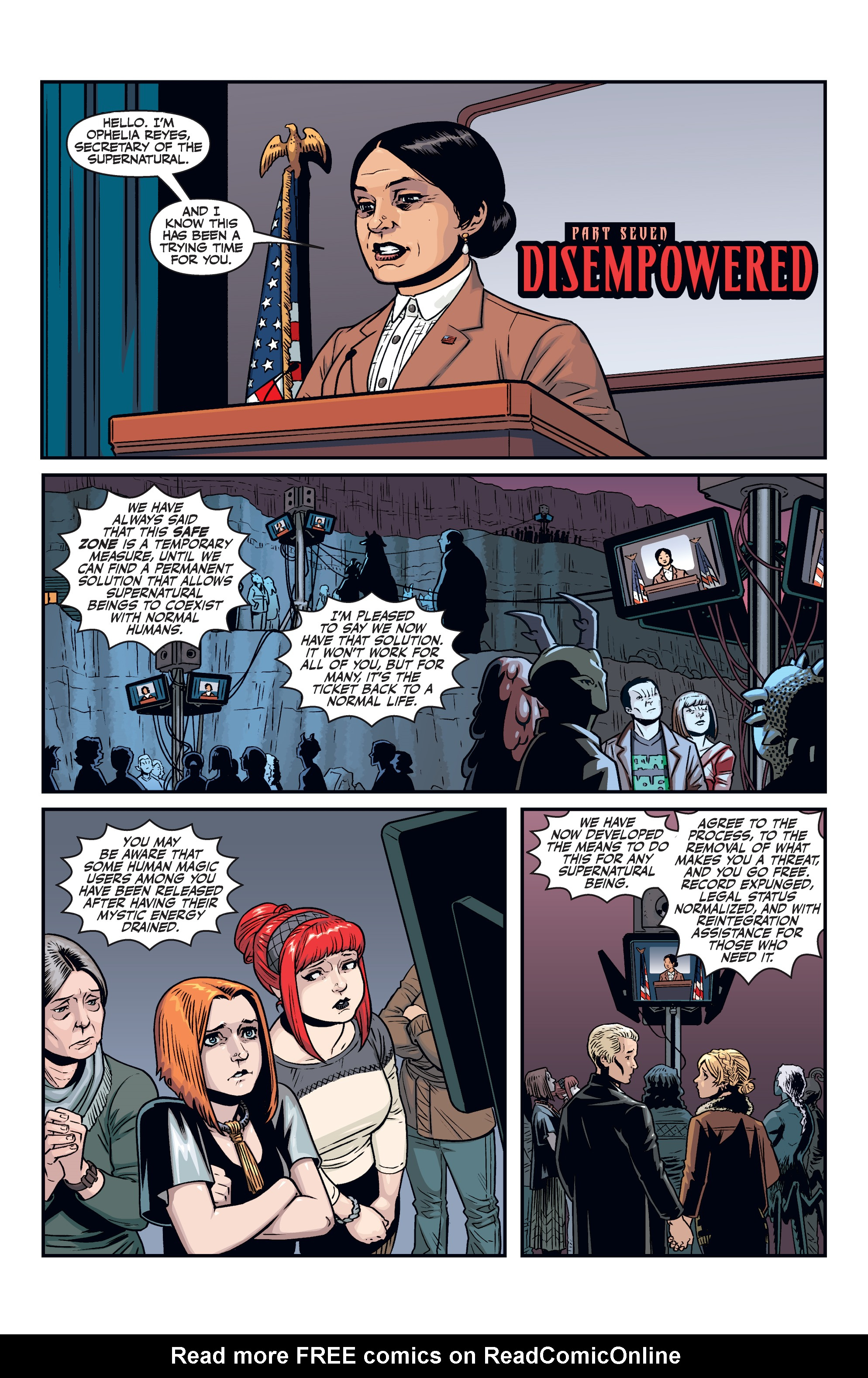 Read online Buffy the Vampire Slayer Season 11 comic -  Issue #7 - 4