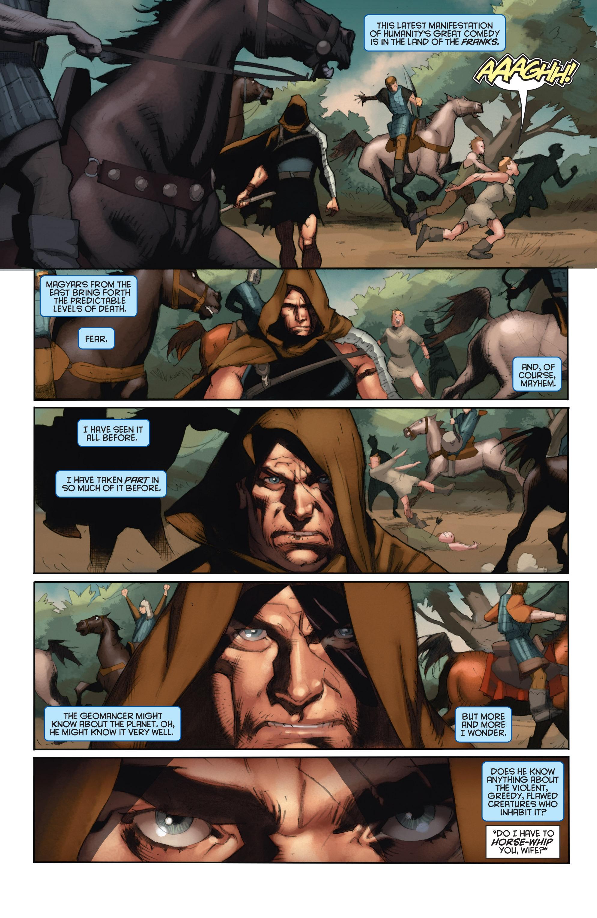 Read online Eternal Warrior: Days of Steel comic -  Issue #1 - 6