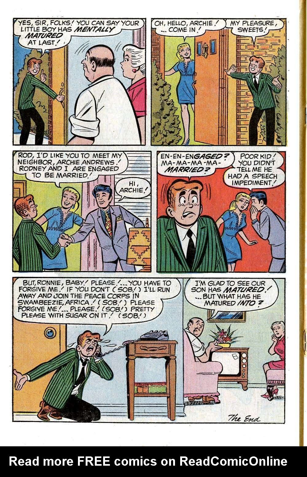 Read online Archie (1960) comic -  Issue #205 - 18