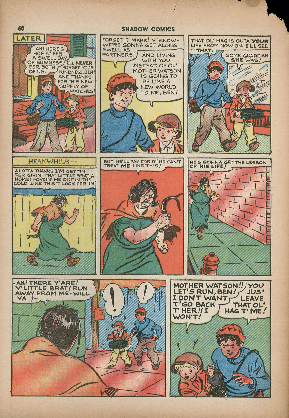 Read online Shadow Comics comic -  Issue #2 - 63