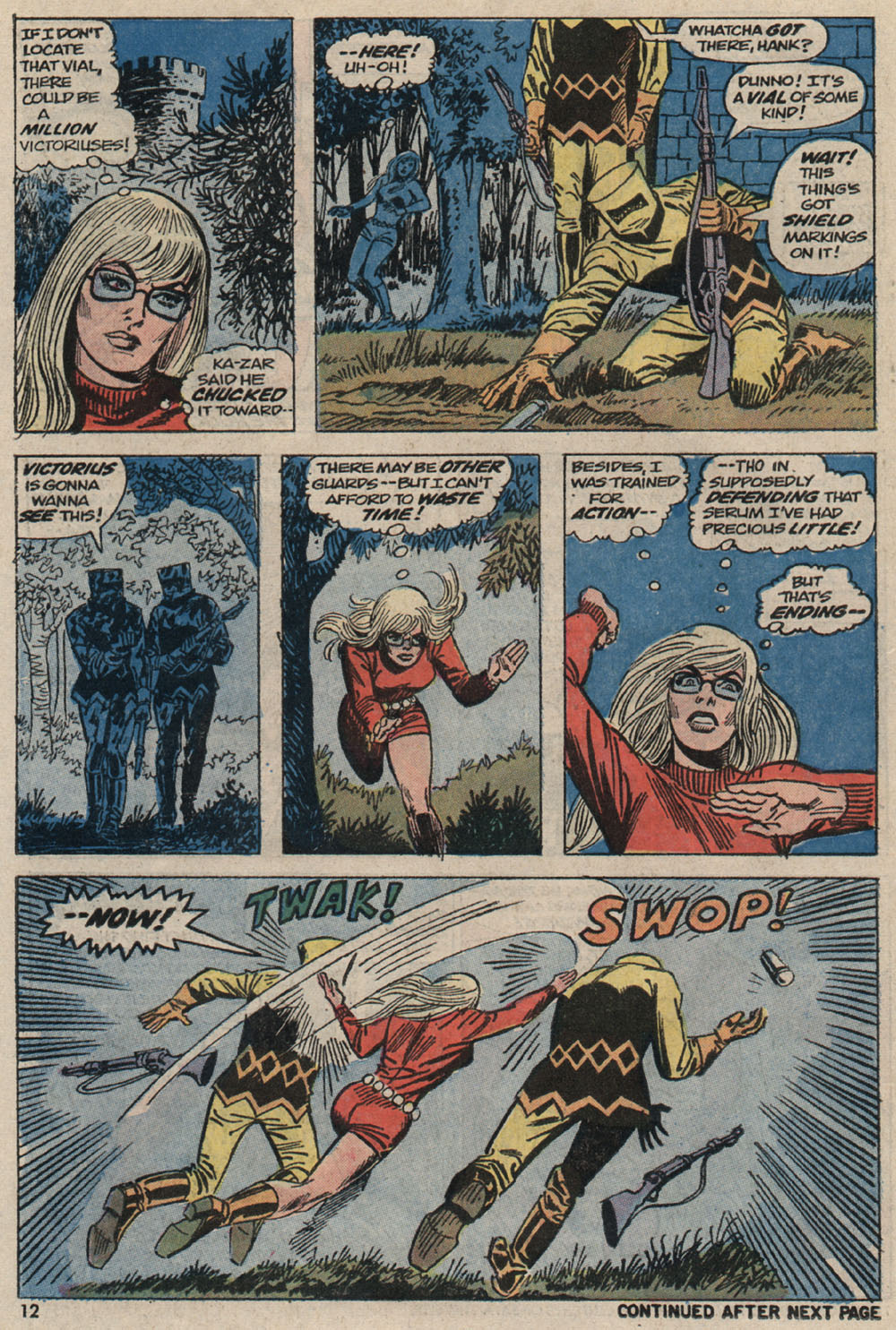 Read online Astonishing Tales (1970) comic -  Issue #20 - 10